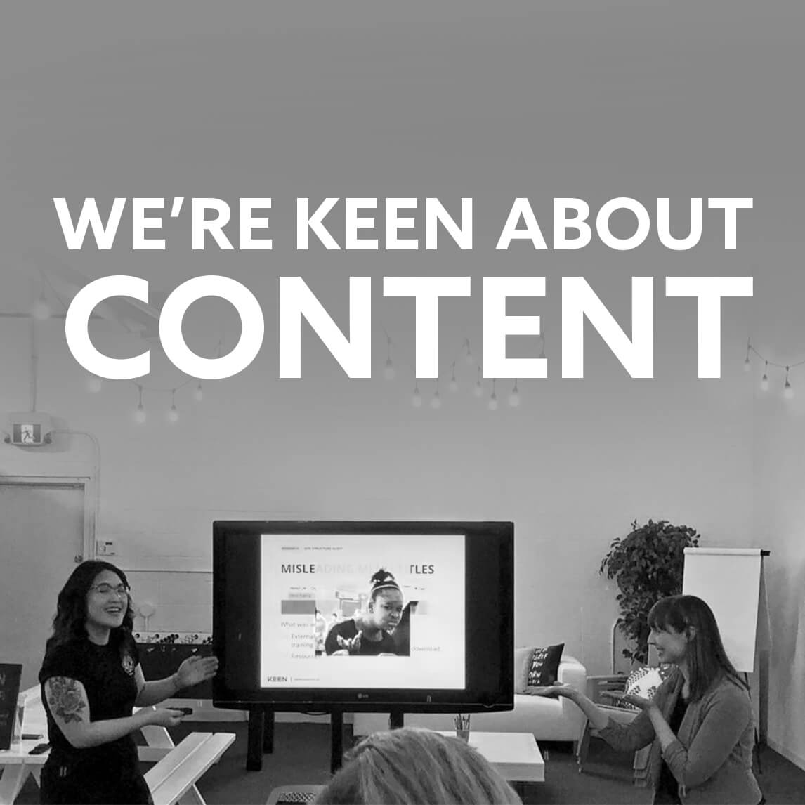 Edmonton Content Strategy: Content Strategy and UX