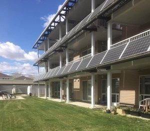 Solar Panels at Edmonton Community
