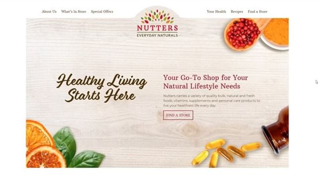 Nutters Everyday Naturals is your go-to for natural foods and lifestyle products. We just launched a new website that we designed and developed for these great folks