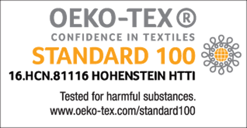 KEETSA Hemp Fabric Standrad 100 by OEKO-TEX