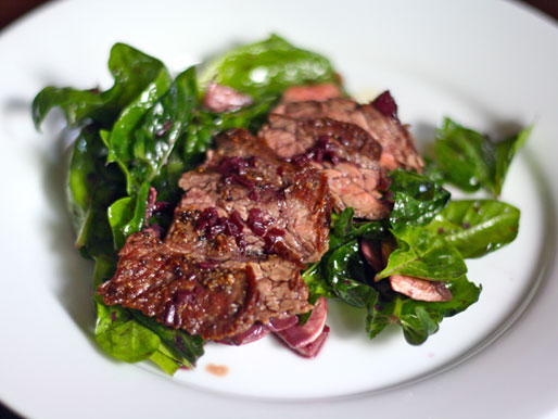 Keto Ribeye Steak Salad