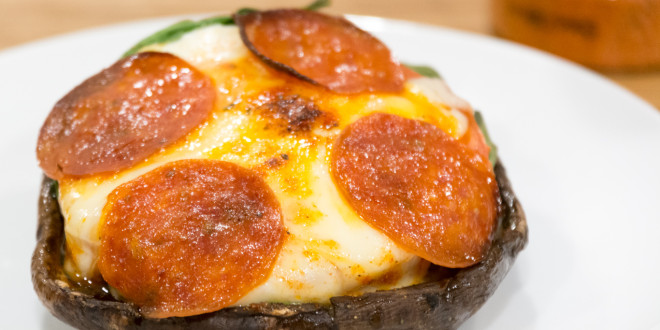 Keto Portobello Pizza