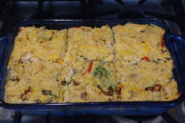 Keto Chicken Avocado Casserole