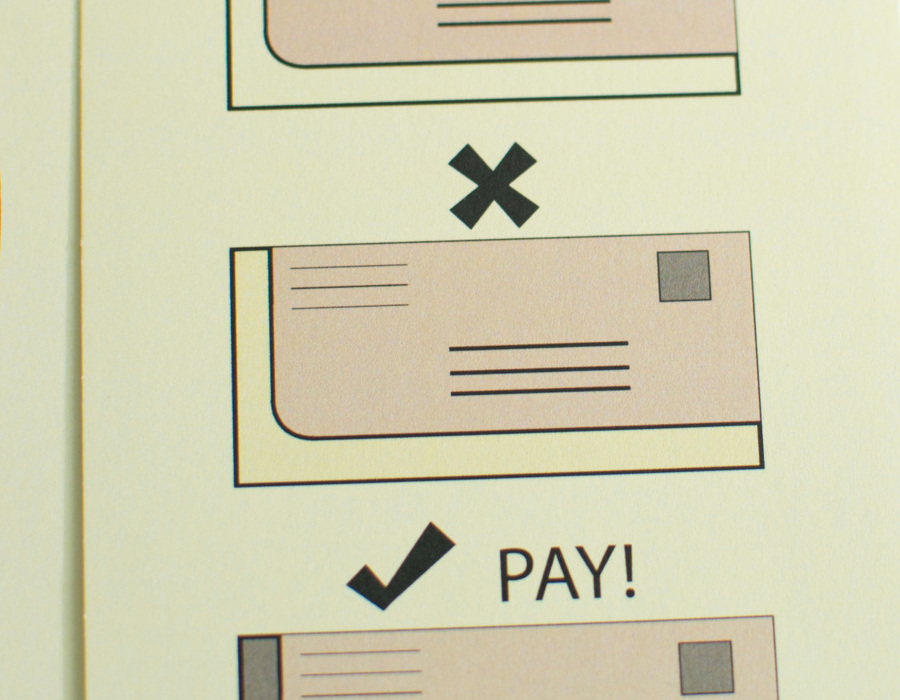 Man's Survival Guide: pay your bills by color, once they turn red you can pay them