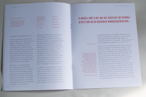 The spread of the booklet set, in the Godhead booklet