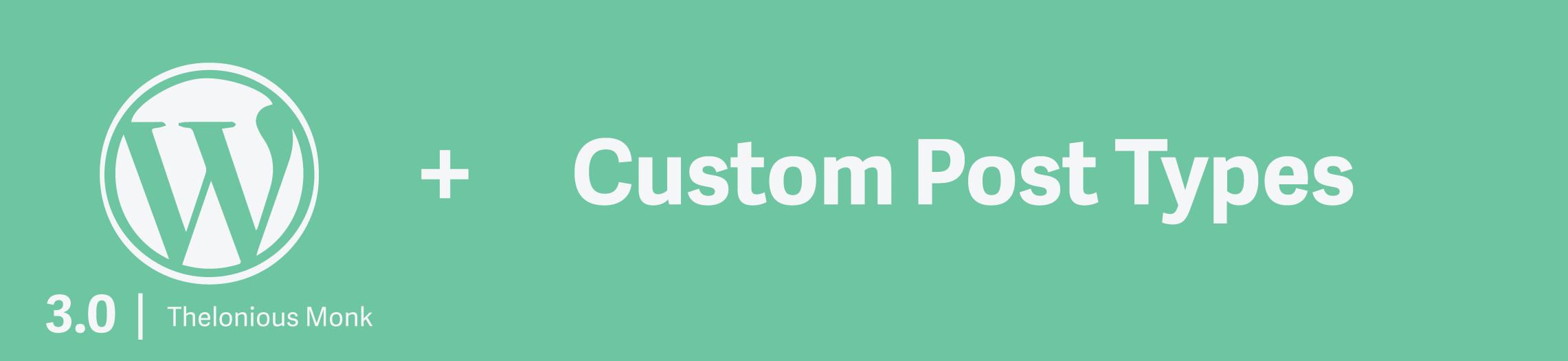 Image representing the blog post for custom post type tutorial in WordPress