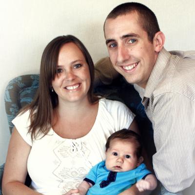 Joel Barrutia family