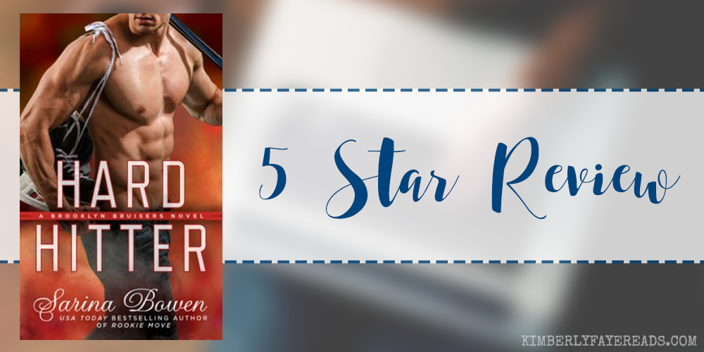In Review: Hard Hitter (Brooklyn Bruisers #2) by Sarina Bowen