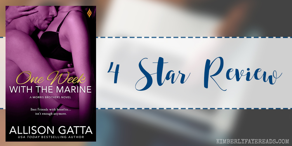 In Review: One Week with the Marine (Love on Location #1) by Allison Gatta