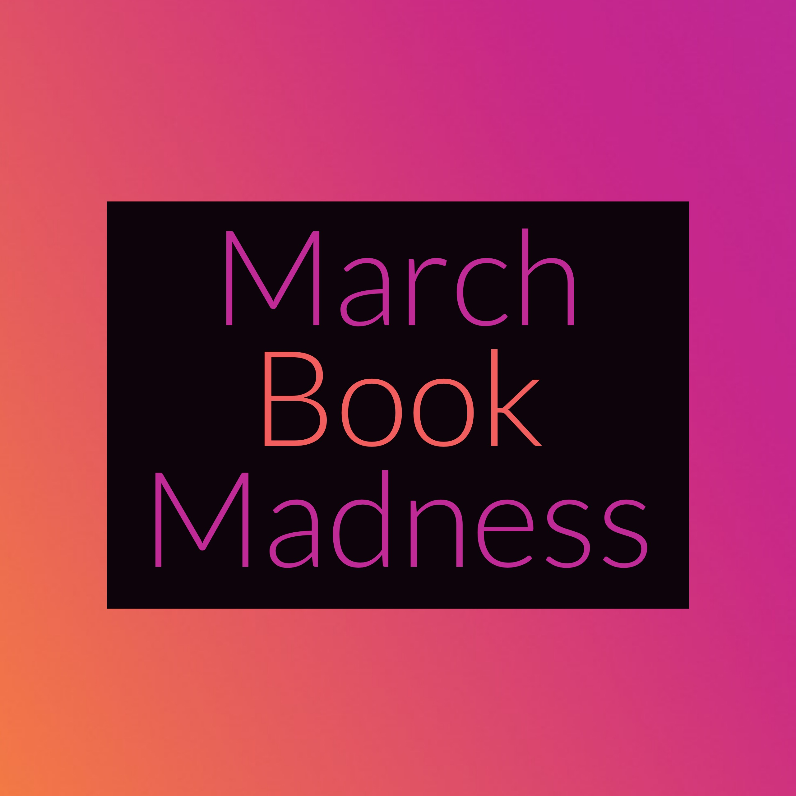 March Book Madness