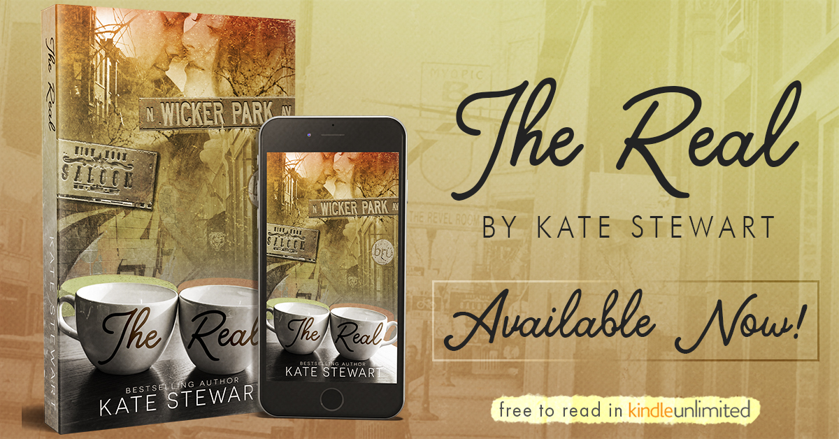 Blog Tour, Review, Excerpt & Teasers: The Real by Kate Stewart