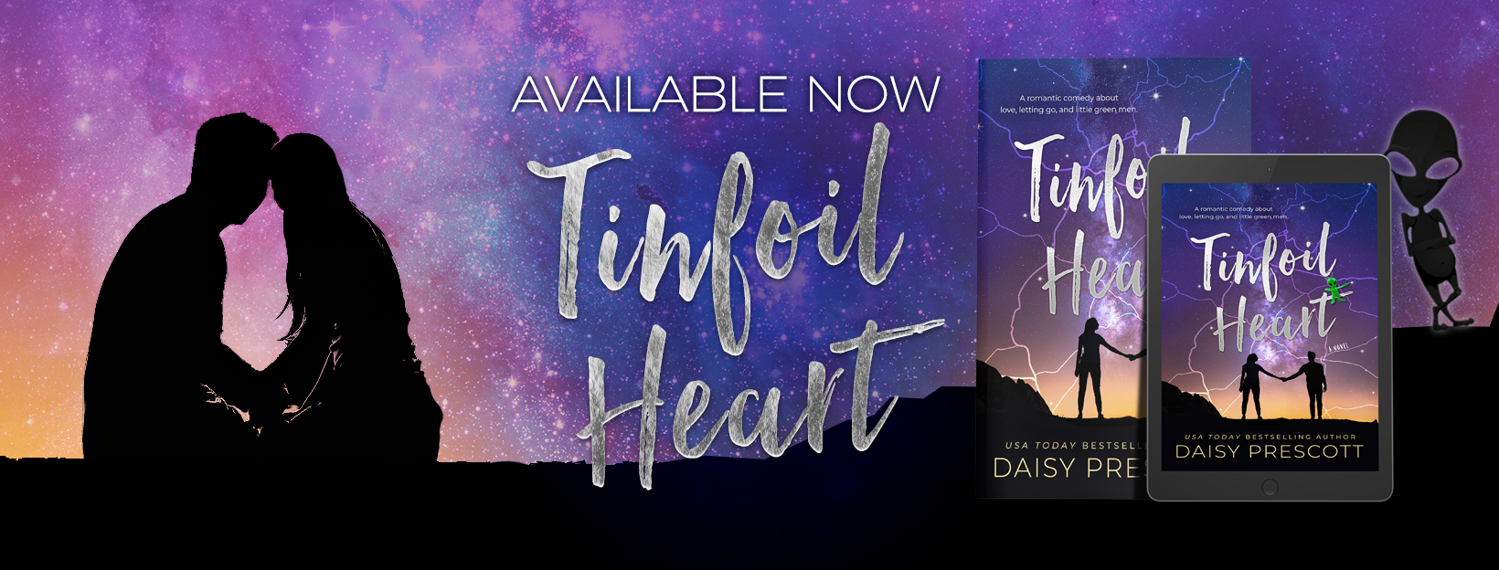 Blog Tour, Review, Teaser & Giveaway: Tinfoil Heart by Daisy Prescott