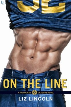 In Review: On the Line (Milwaukee Dragons #1) by Liz Lincoln