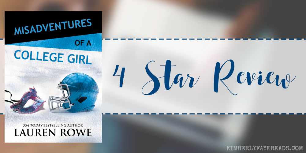 In Review: Misadventures of a College Girl (Misadventures #9) by Lauren Rowe