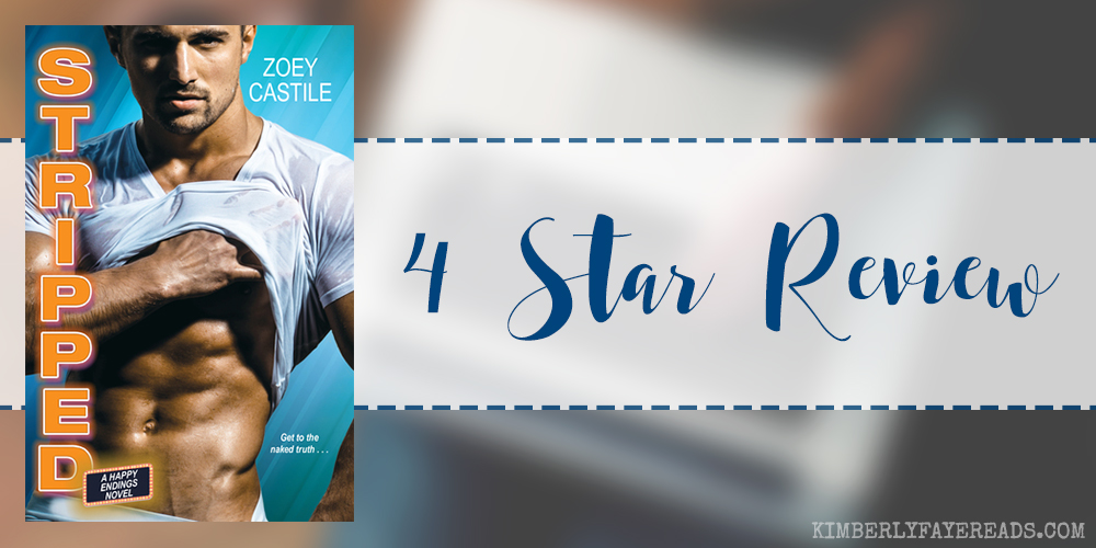 In Review: Stripped (Happy Endings #1) by Zoey Castile