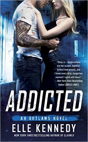 In Review: Addicted (Outlaws #2) by Elle Kennedy