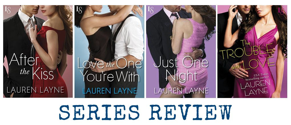 Series Review: Sex, Love & Stiletto by Lauren Layne
