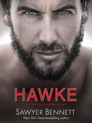 In Review: Hawke (Cold Fury Hockey #5) by Sawyer Bennett