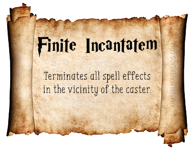 Finite Incantatem