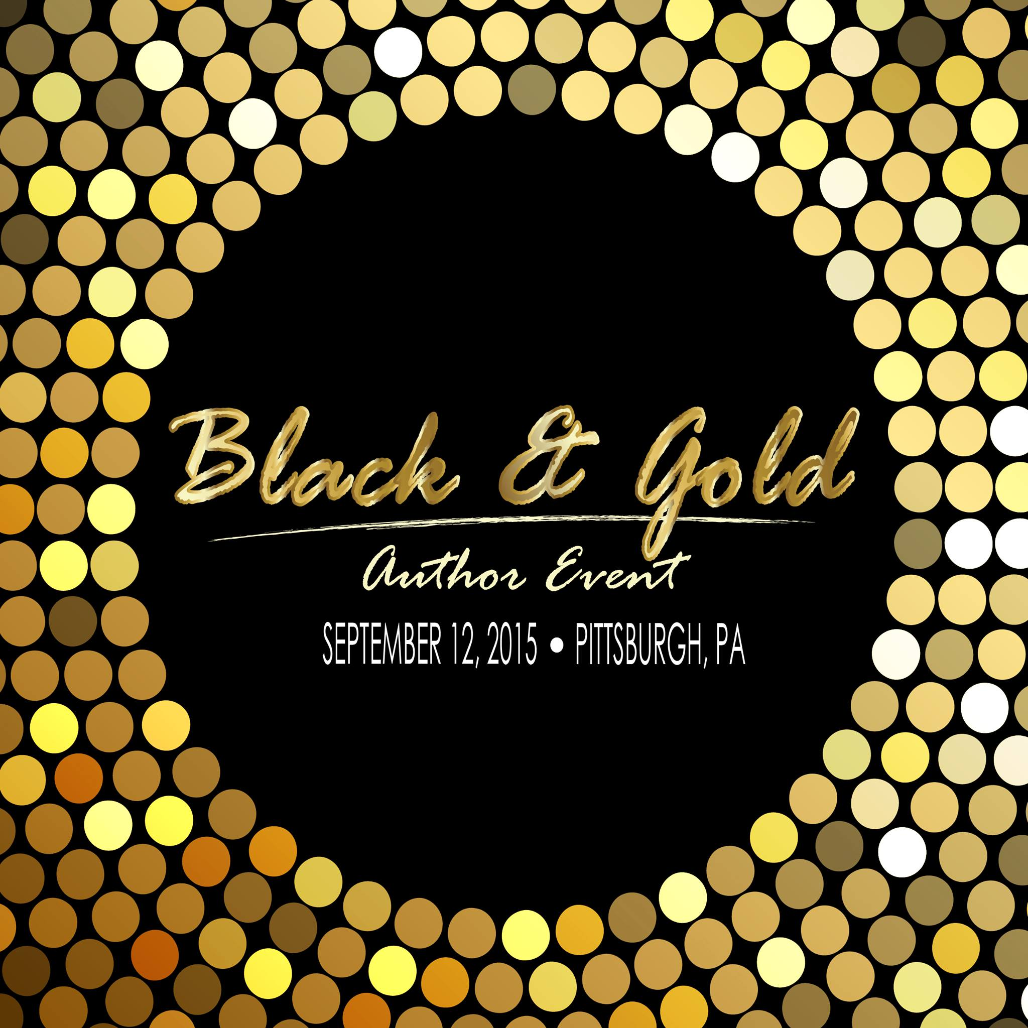Black & Gold Author Event Wrap Up
