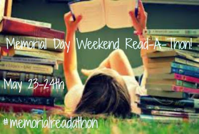 Memorial Day Weekend Read-A-Thon: Challenge Accepted (& Goals!)