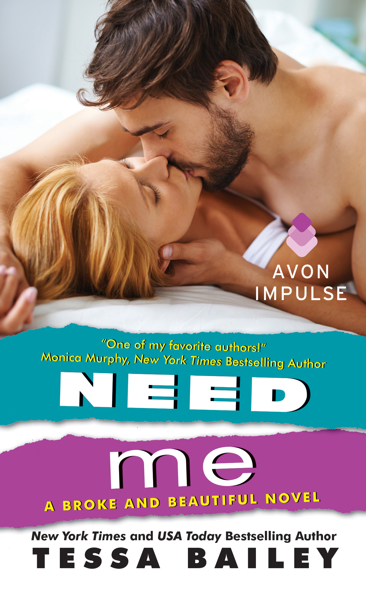 Blog Tour, Review, Excerpt & Giveaway: Need Me (Broke & Beautiful #2) by Tessa Bailey