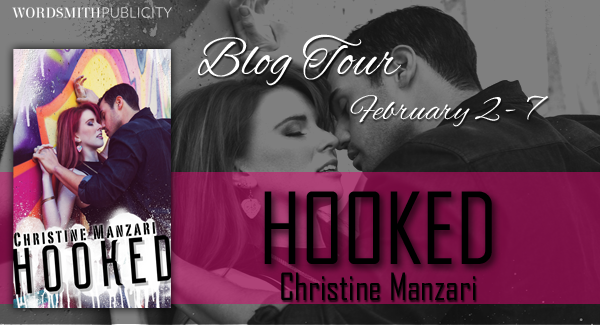 Blog Tour, Review, Teasers & Giveaway: Hooked (Hearts of Stone #1) by Christine Manzari
