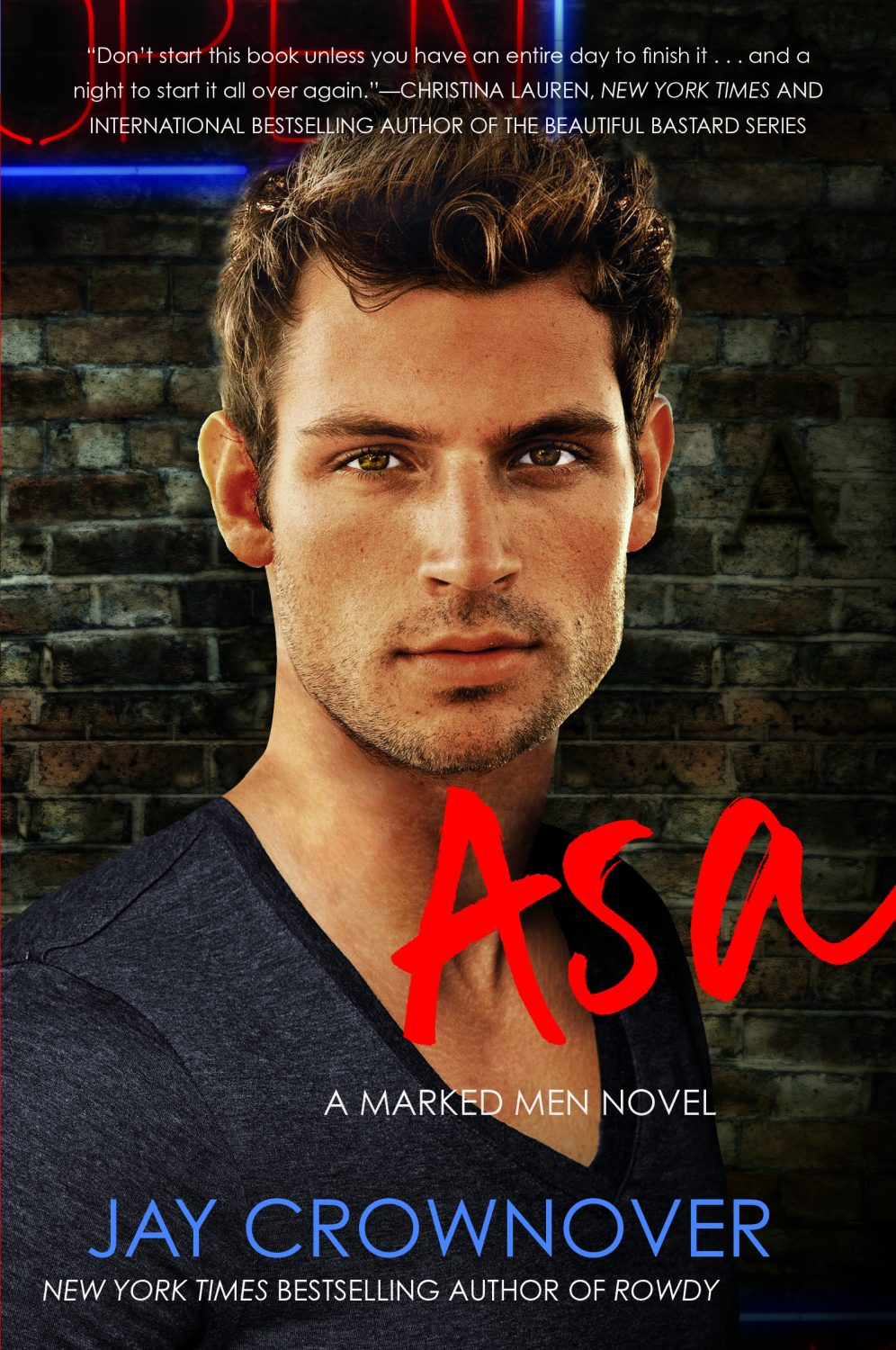 Blog Tour, Review, Excerpt & Giveaway: Asa (Marked Men #6) by Jay Crownover