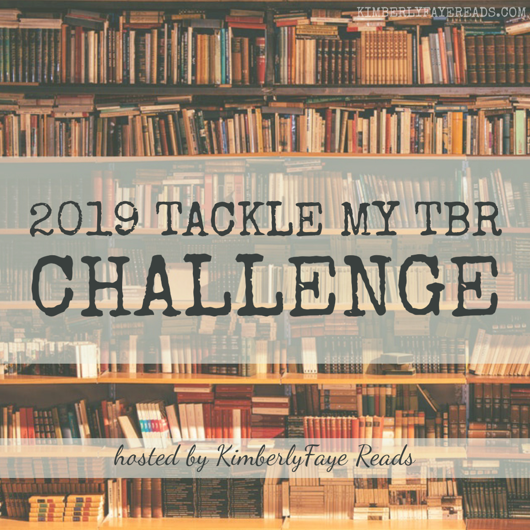 2019 Tackle My TBR Challenge Sign-Up