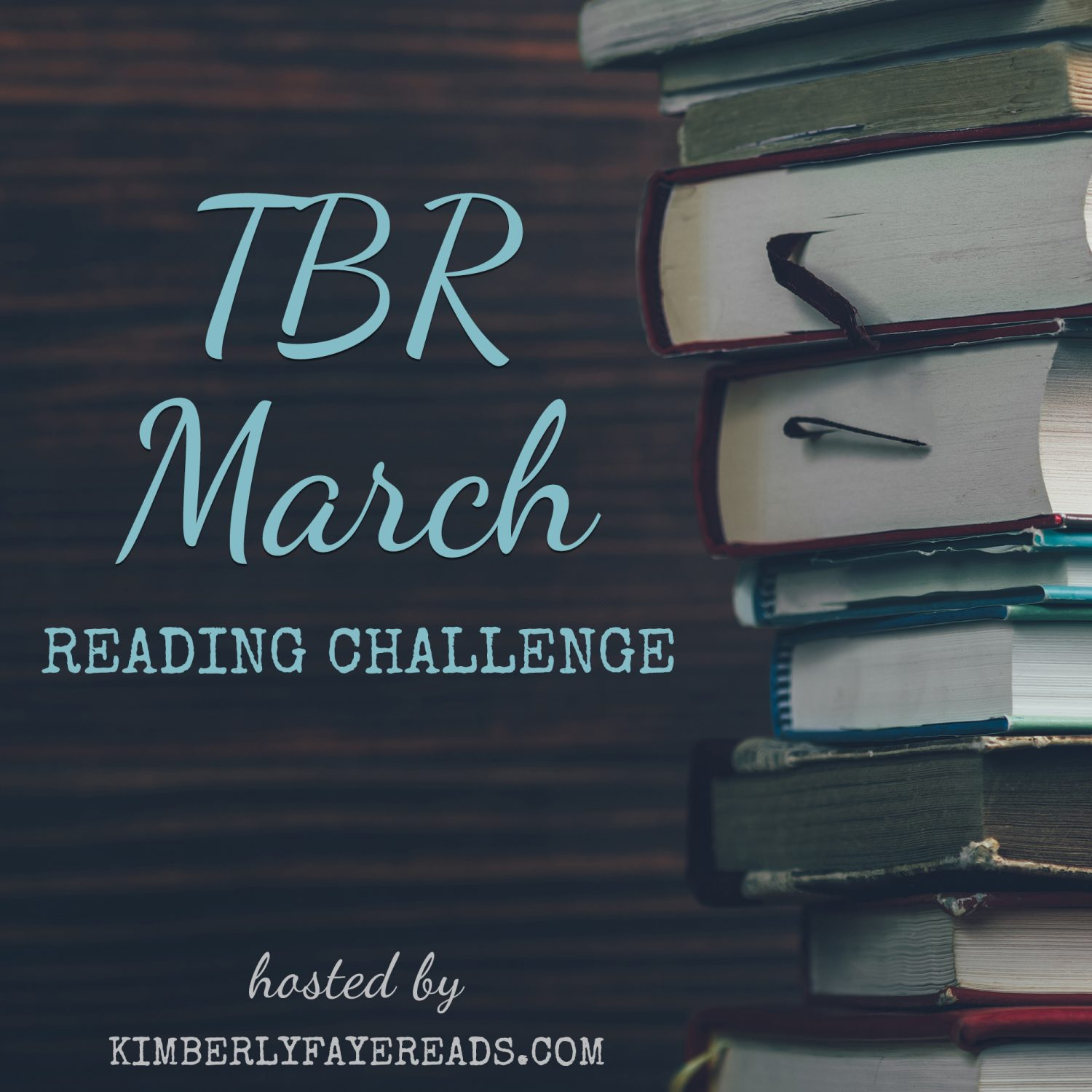 2019 TBR March Reading Challenge Sign-Up