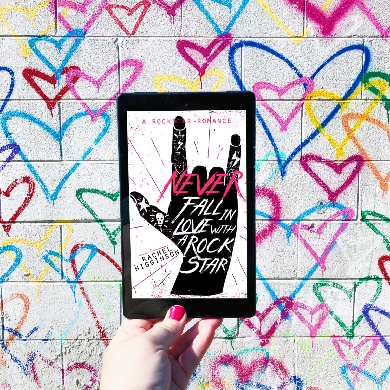 In Review: Never Fall in Love with a Rockstar by Rachel Higginson