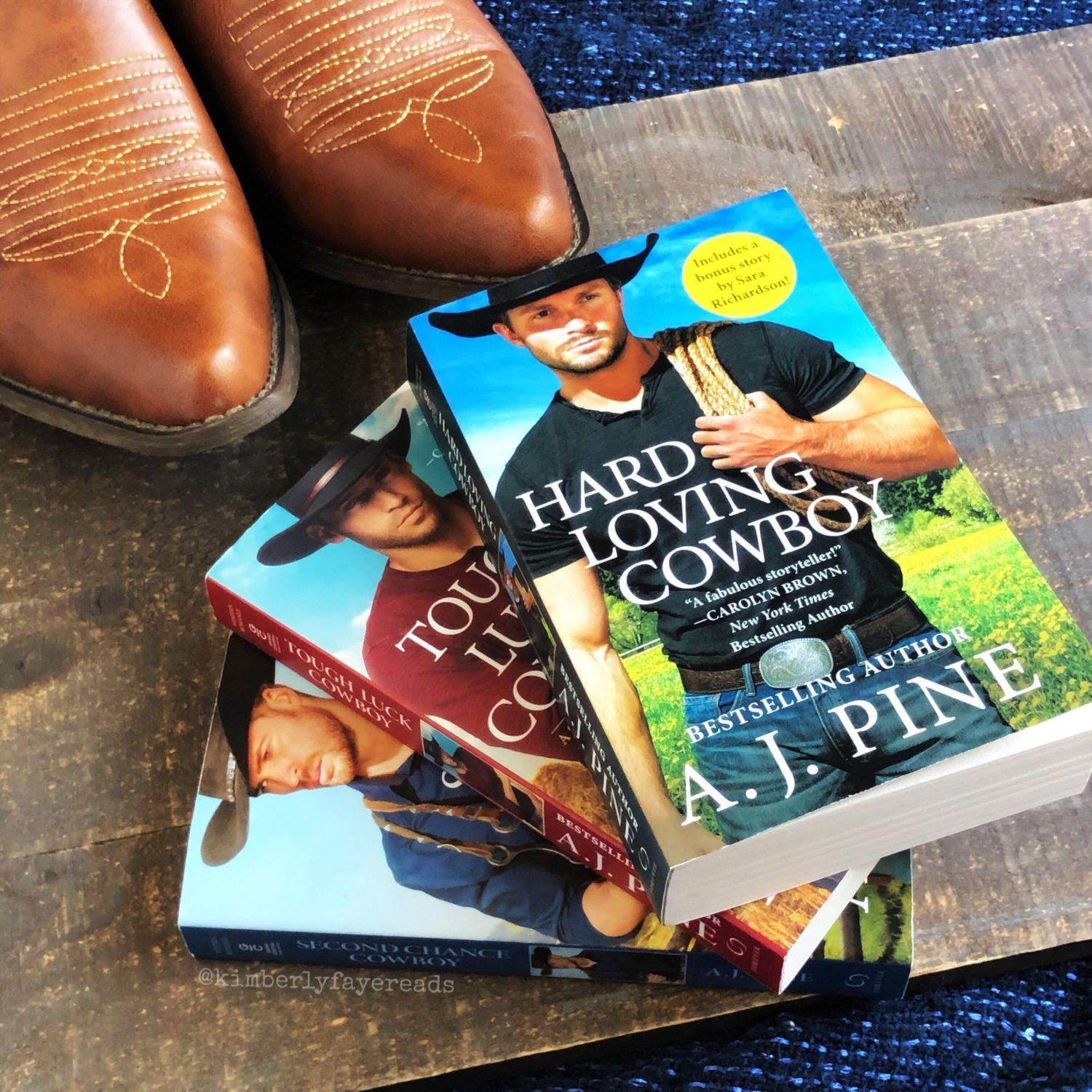 In Review: Hard Loving Cowboy (Crossroads Ranch #3) by A.J. Pine