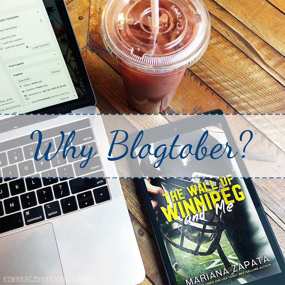 Why Blogtober?