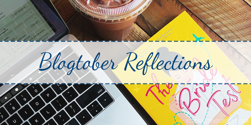Blogtober Reflections