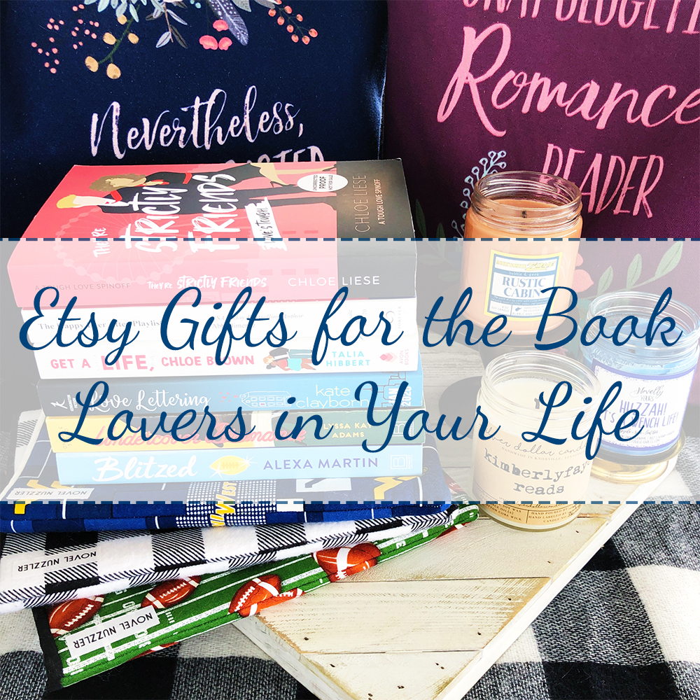 Etsy Gifts for the Book Lovers in Your Life