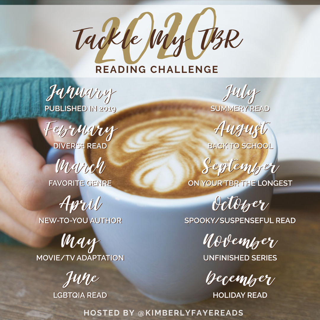 Tackle My TBR Challenge Monthly Prompts