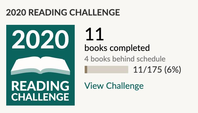 Goodreads update: January