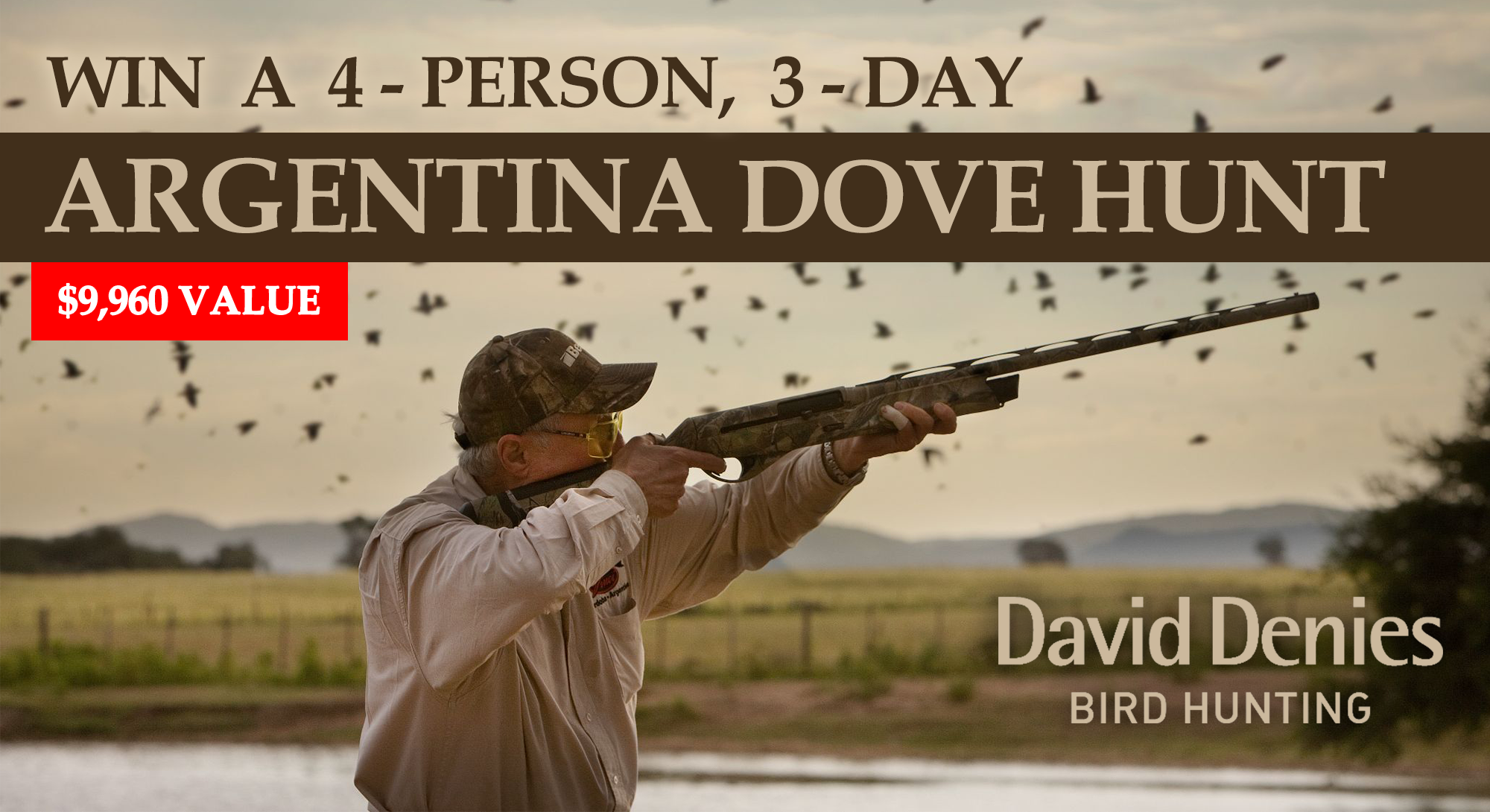 3-Day High Volume Dove Hunt in Argentina for 4 Poeple