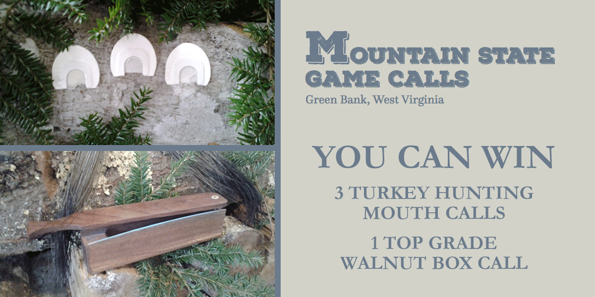Turkey Call Giveaway !