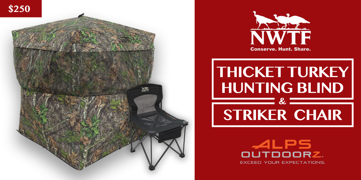 Win a Thicket Blind and Striker Chair!