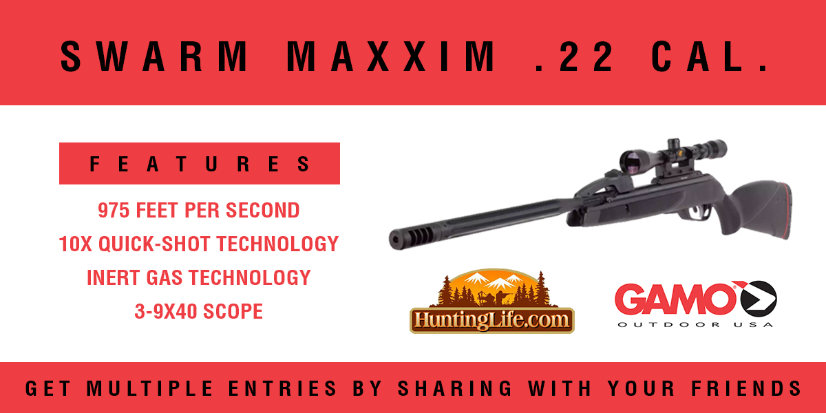 Gamo Swarm Air Rifle Giveaway