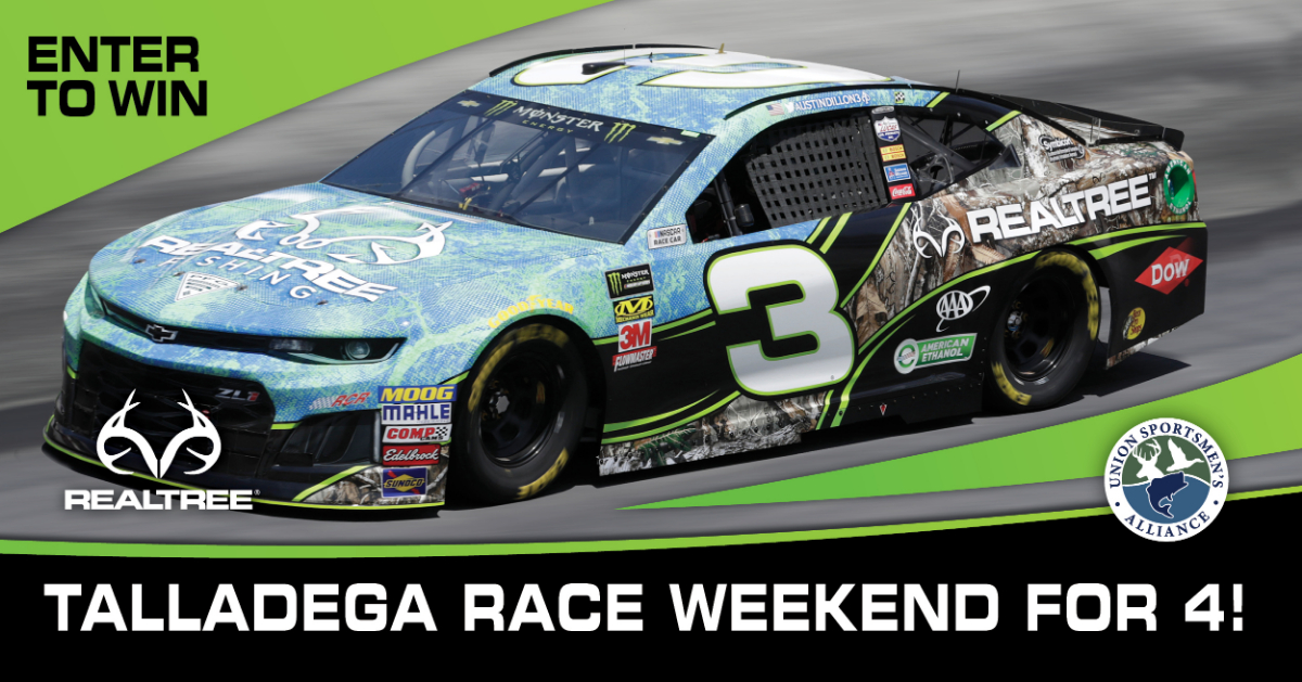 USA's Realtree Talladega Race Weekend Sweepstakes
