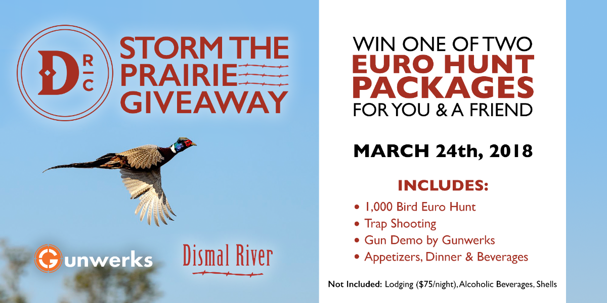 Storm the Prairie Giveaway
