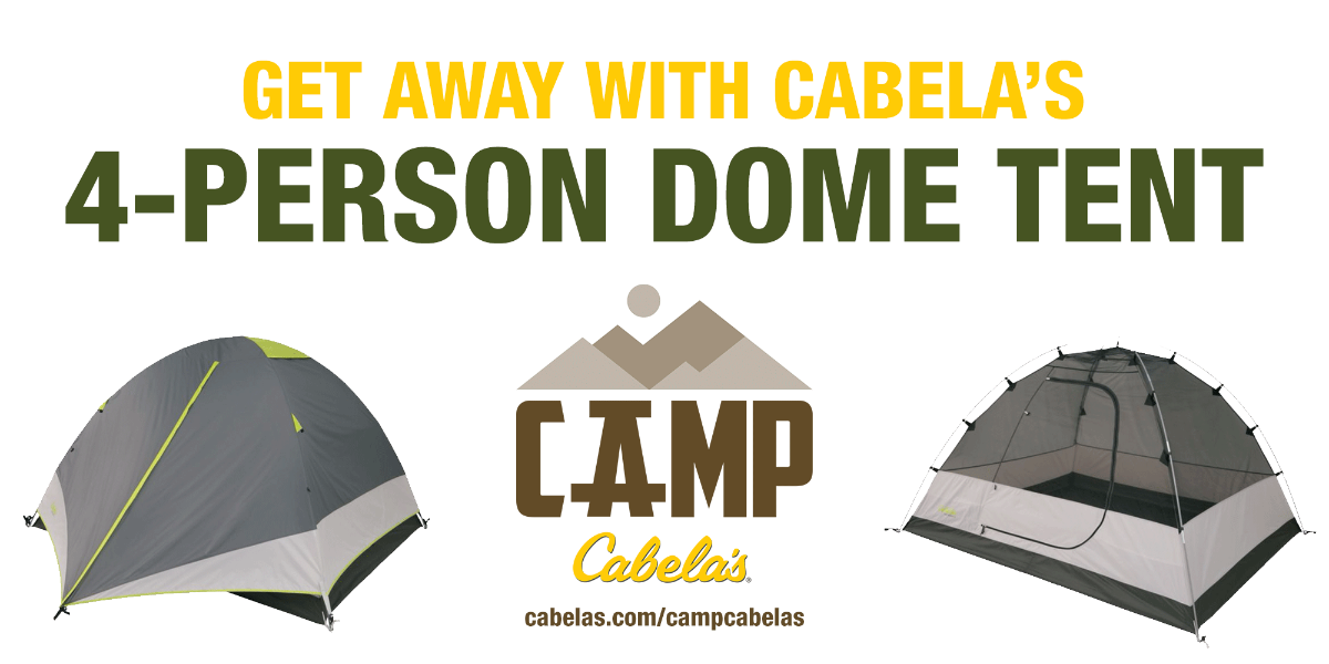 Getaway 4-Person Dome Tent