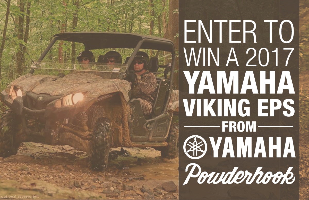 Enter to win a 2017 Yamaha Viking EPS