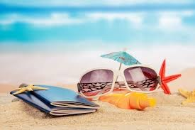 beach passport photo