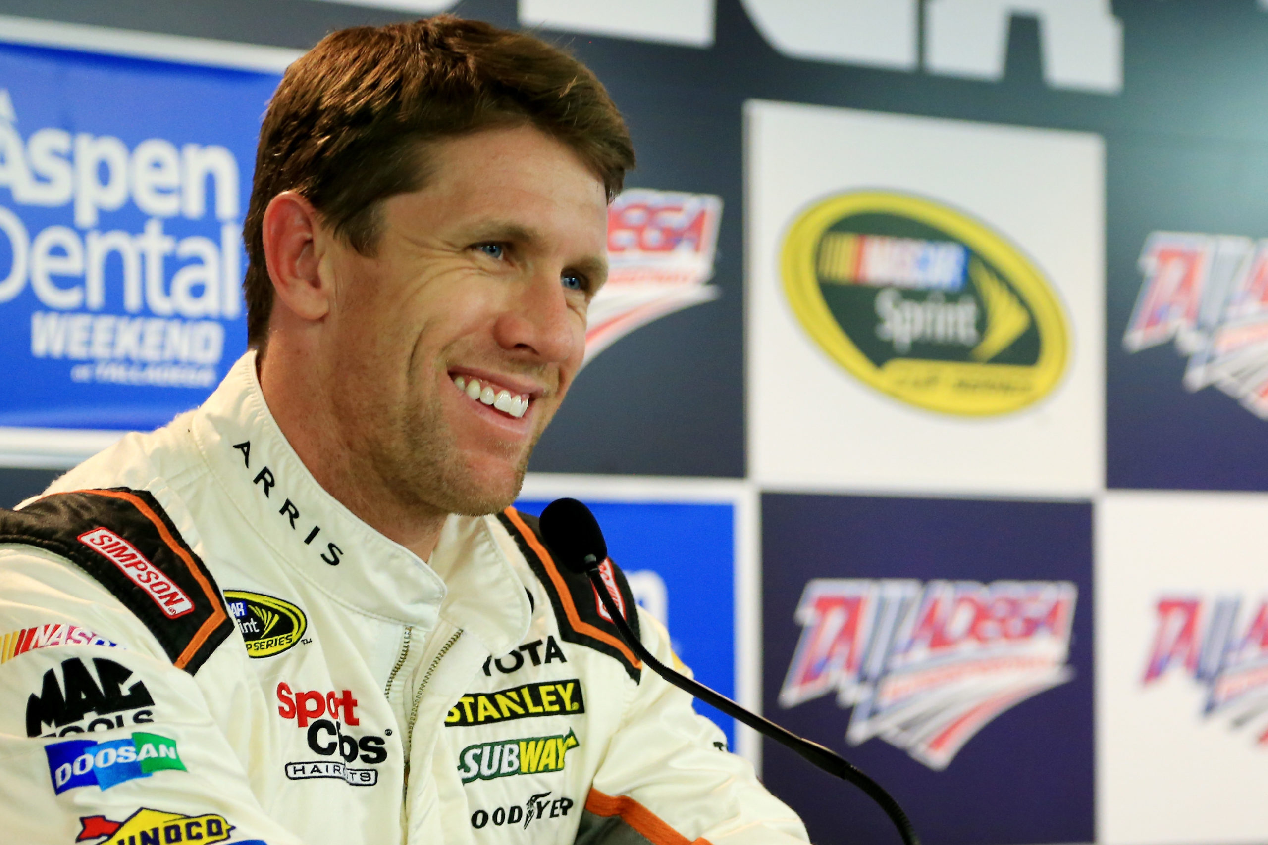 Carl Edwards Excited About Kentucky, Michigan Rules Changes