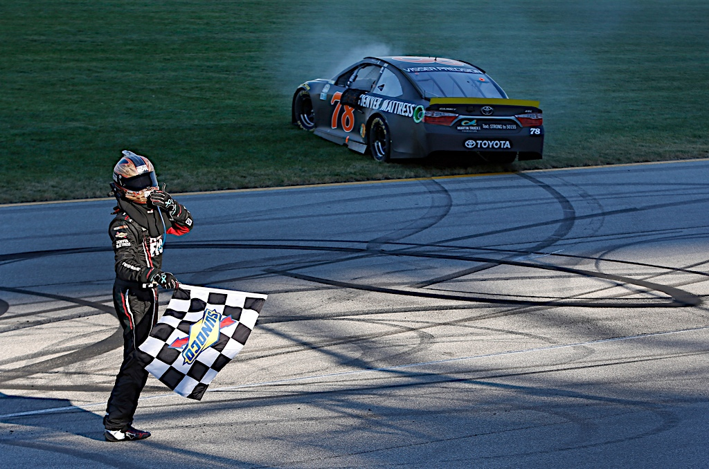 Truex Triumphs in Chase for the NASCAR Sprint Cup Opener at Chicagoland