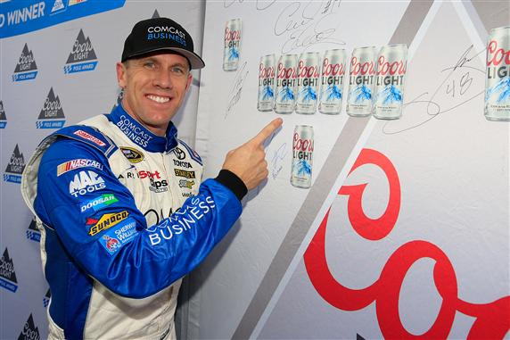 Carl Edwards Wins Pole for Sunday's Race in New Hampshire