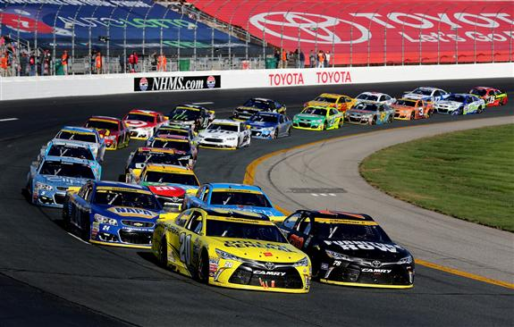 """Dominant Kenseth Settles for Second in Loudon: """"I Didn't Do a Very Good Job"""""""